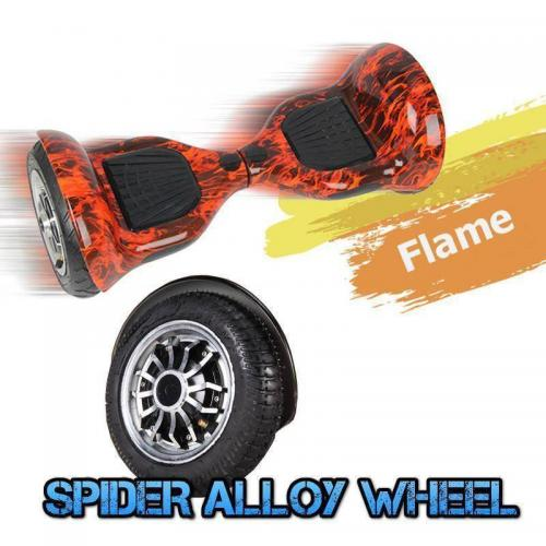 10 inch hoverboard flame3