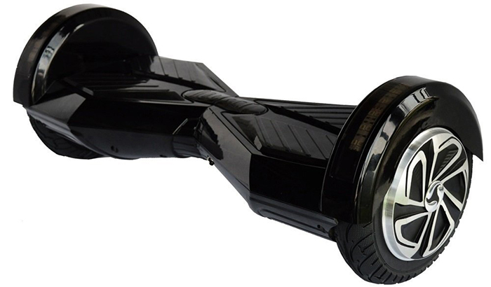 8 inch hoverboard black3