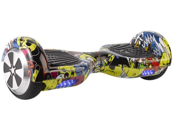 multi color hoverboard