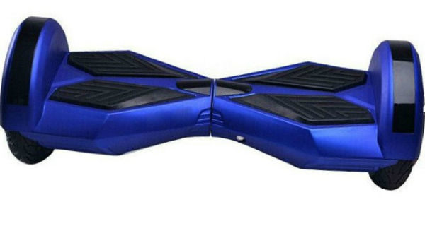 8 Hoverboards blue