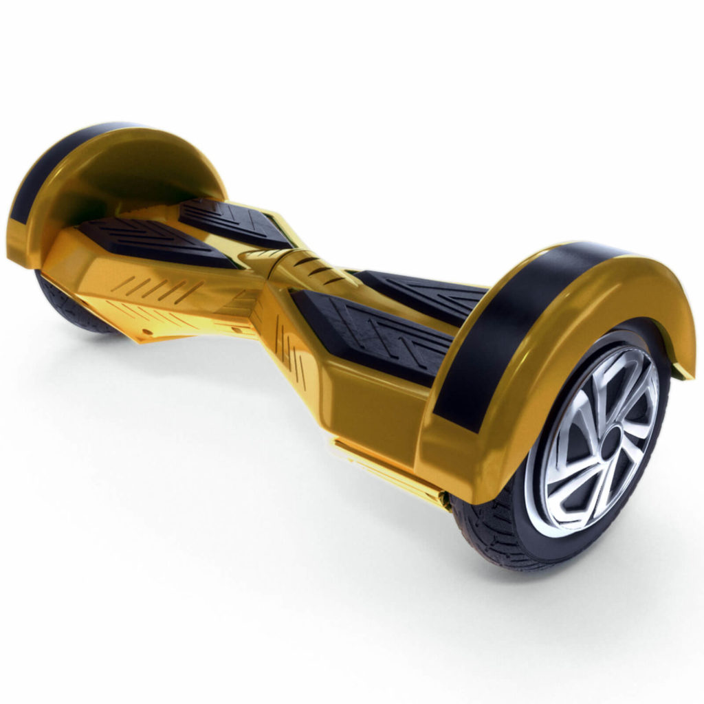 8 inch hoverboard gold1