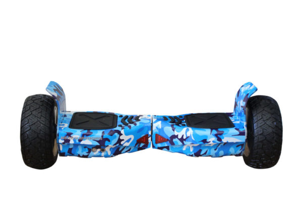 Off road camouflage blue