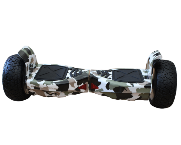 Off road hoverboard gray
