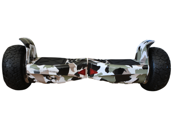 Off road hoverboard gray4