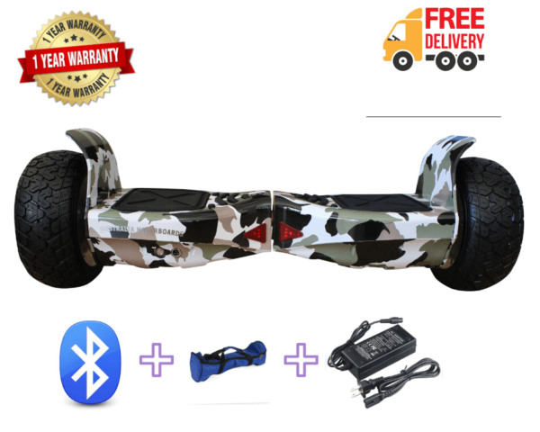 Off road hoverboard gray6